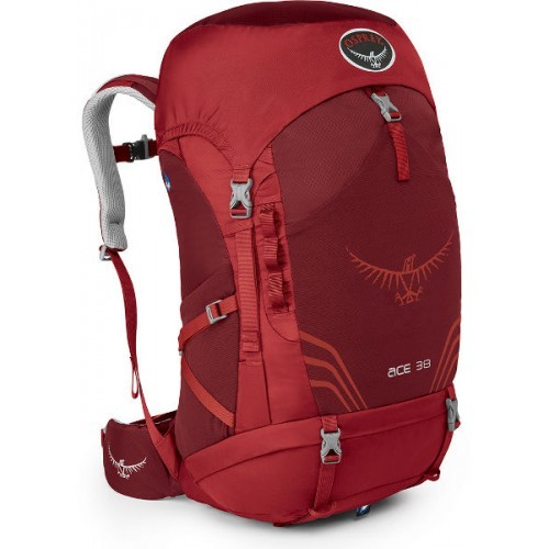 Рюкзак Osprey Ace 38 Paprika Red (червоний) O/S