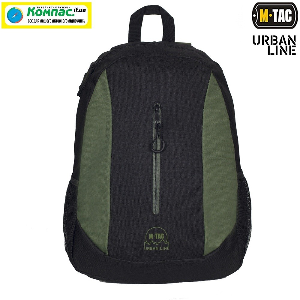 M-TAC РЮКЗАК URBAN LINE LITE PACK GREEN / BLACK