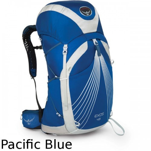 Рюкзак Osprey Exos 48 Pacific Blue (синій) LG