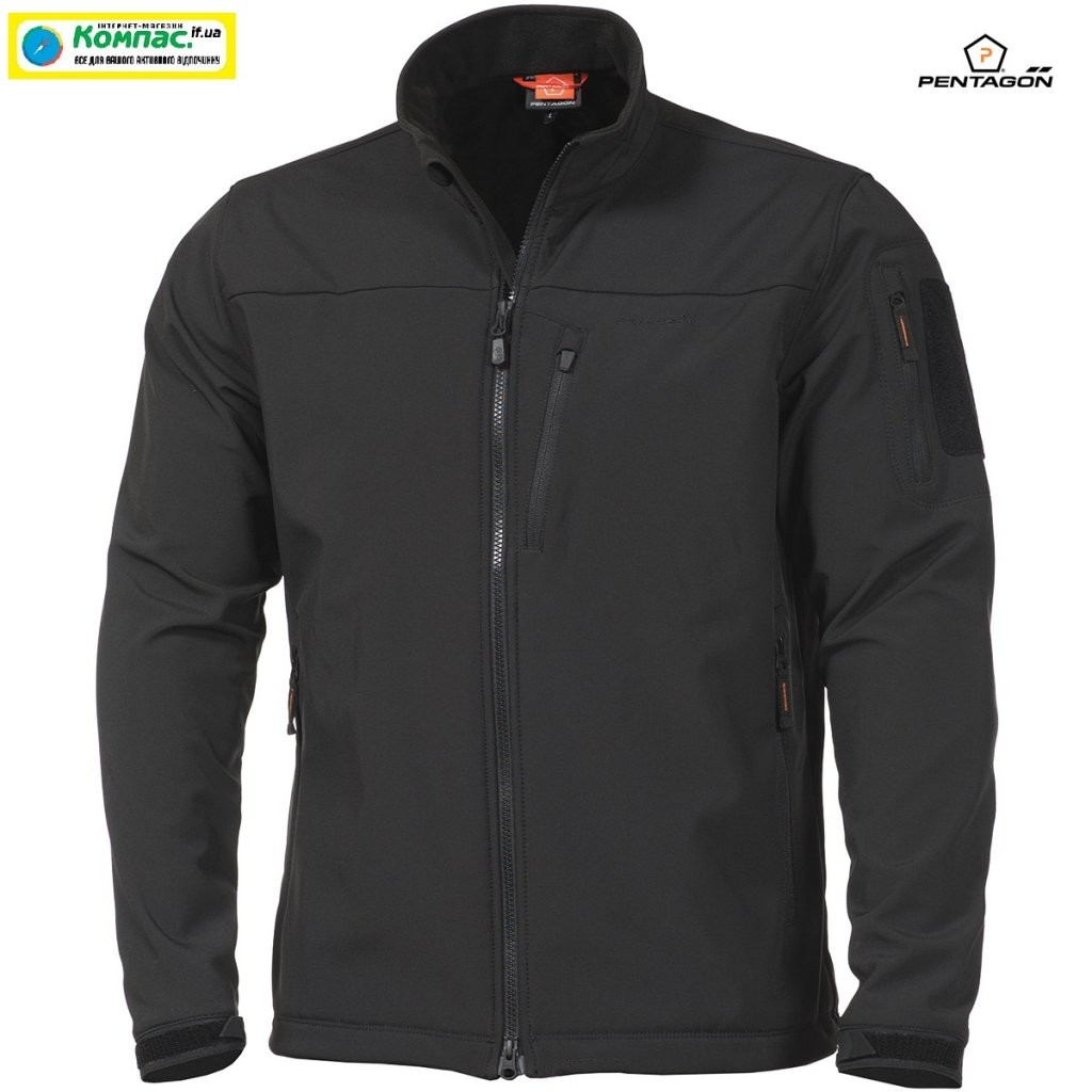 Куртка Softshell Reiner 2.0 SF Pentagon Black