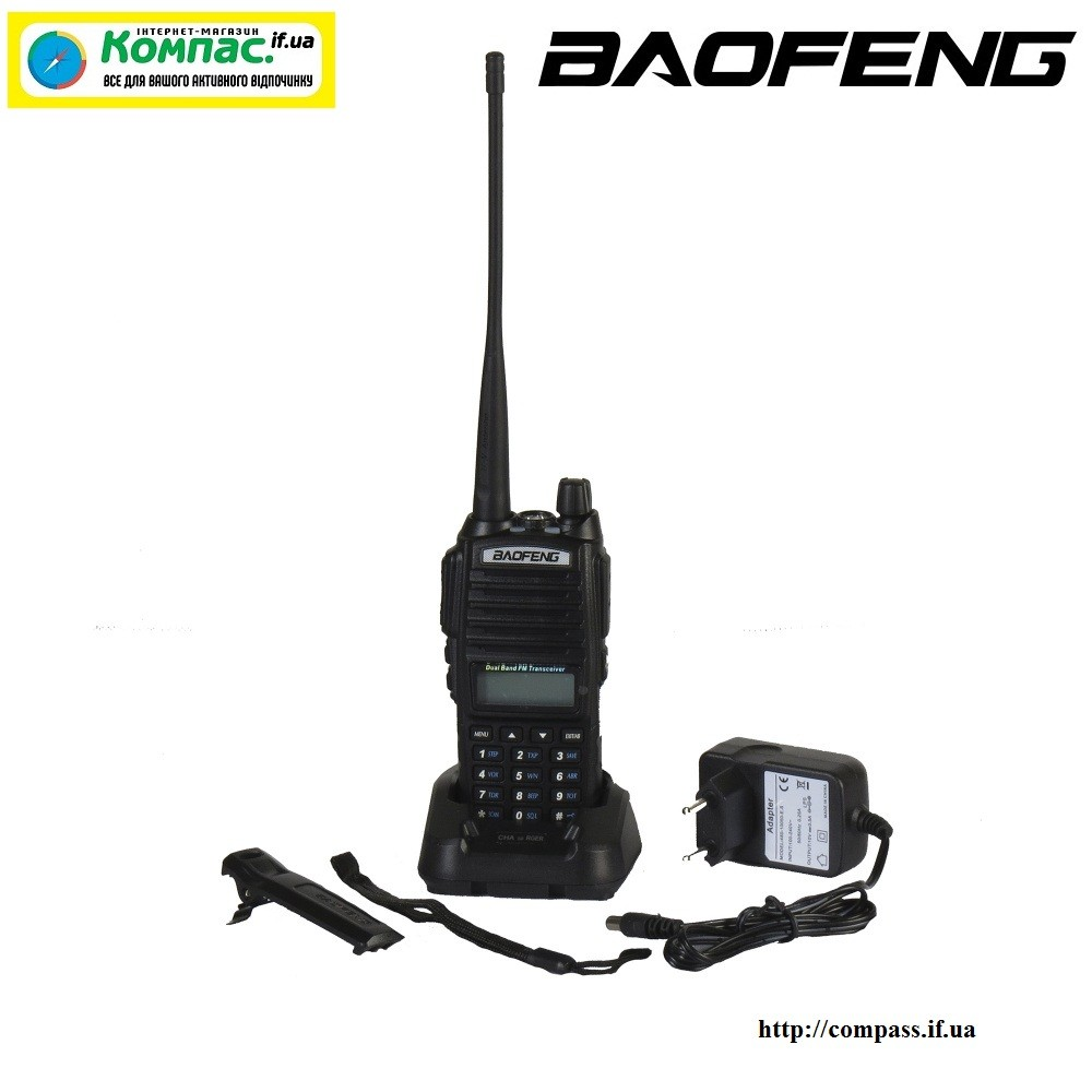 Радиостанция BAOFENG UV-82 BLACK